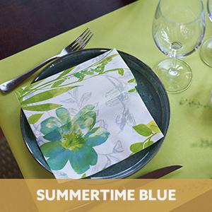 Duni Summertime Blue