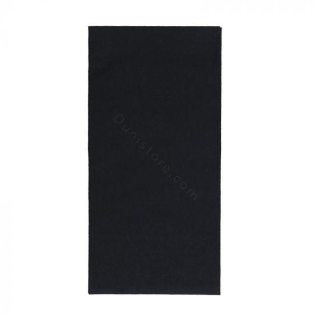 Servetten dunisoft (airlaid) 40cm 1/8 BF zwart