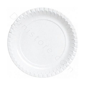 BIO Kartonnen borden 220mm wit
