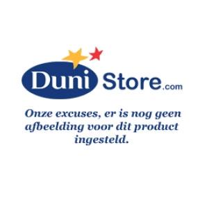 Onderzetters dunicel Ø 19 cm wit - zilver