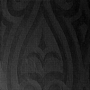 Servetten 48cm elegance lily zwart