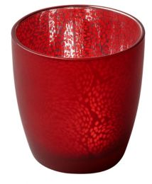 Candle holder Touch bordeaux