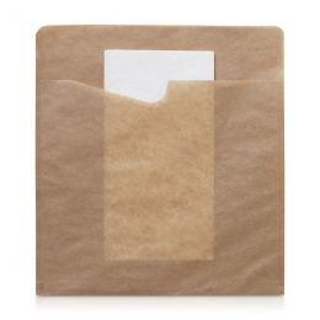Snack Sacchetto tissue 194x210mm groot Kraft