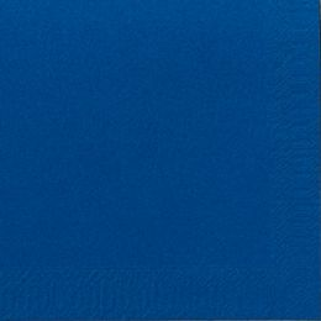 Servetten tissue 40cm 3 laags donkerblauw