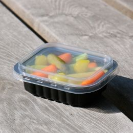 Deksel voor Side Dish Tray 138x114mm transparant
