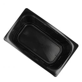 Gastronormbak 1/4 GN 265x161x100mm 2600ml zwart