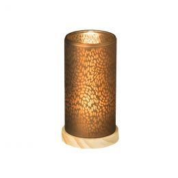 LED Candle holder 145x80mm Blush Brown