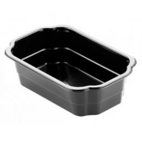 Take-Away Tray 1 vaks 1750ml zwart