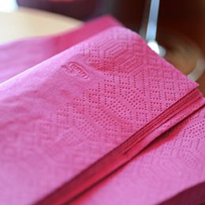 bedrukte servetten tissue duni logo napkin servietten
