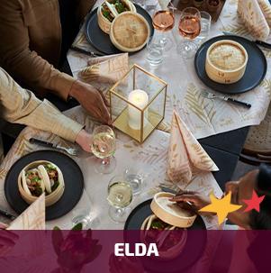 Duni tafelaankleding Elda