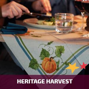 Duni tafelaankleding Heritage Harvest