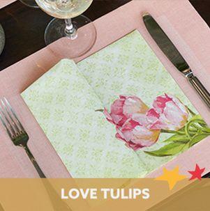 Duni Love Tullips