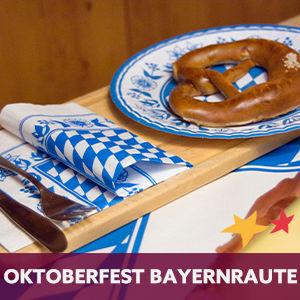 Duni tafelaankleding  Oktoberfest Bayaernraute