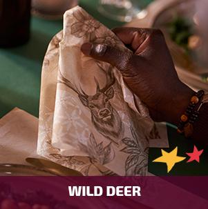 Duni tafelaankleding Wild Deer