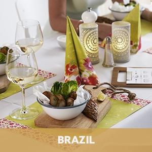 Duni tafelaankleding Brazil