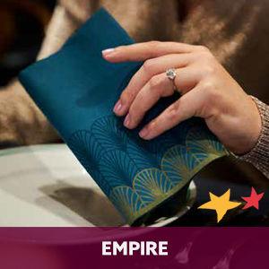 Duni tafelaankleding Empire