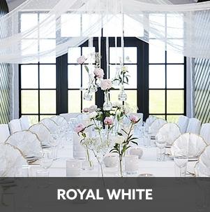 Duni Royal White