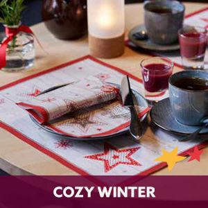 Duni tafelaankleding Cozy Winter