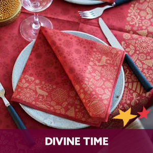 Duni tafelaankleding Divine Time