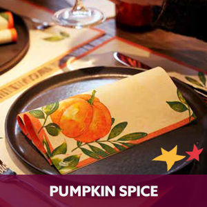 Duni tafelaankleding Pumpkin Spice