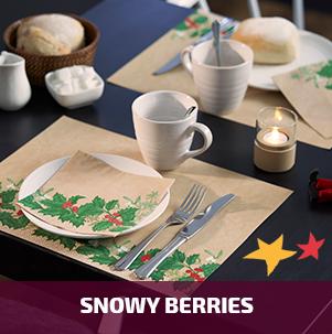 Duni Snowy Berries